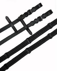 Brown Soft padded reins 3 web
